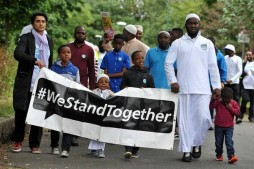 Religions Come Together in Solidarity after Manchester Mosque Arson Attack