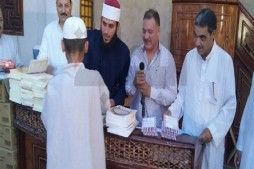 Quran Memorizers Honored in Syria