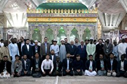 Participants in Int'l Quran Competitions Pay Tribute to Imam Khomeini