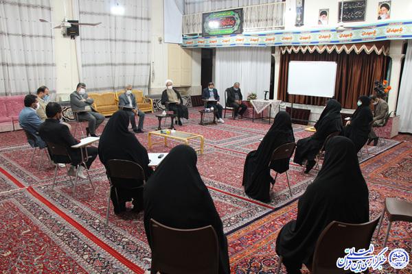 ارسالی دوشنبه //// پیگیری دغدغههای مؤسسات قرآنی با حضور فقهی زاده در خراسانجنوبی